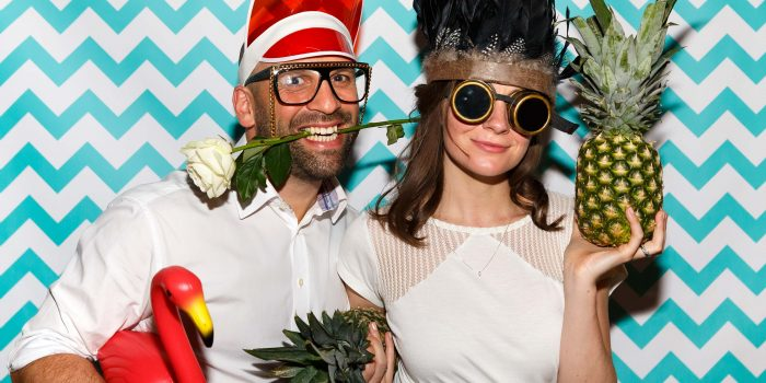 Manchester Town Hall Wedding Photo Booth