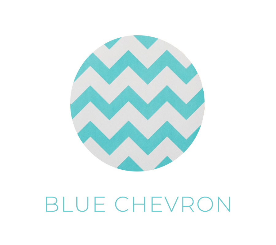 blue chevron backdrop