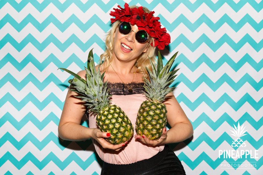 pineapple photo booth