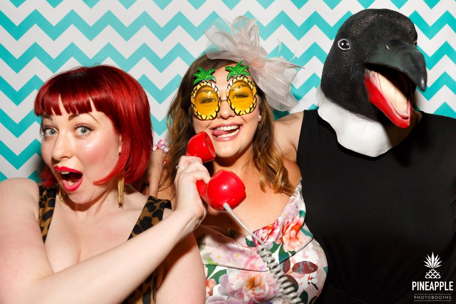 quirky photo booth props