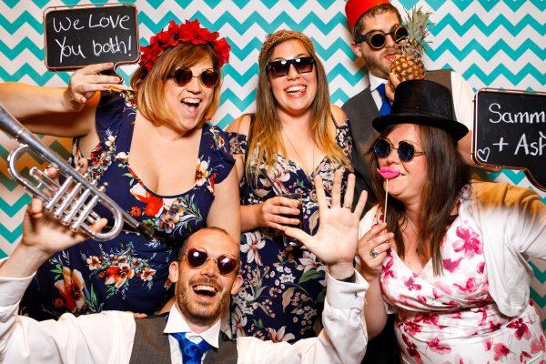 Styal Lodge wedding photo booth