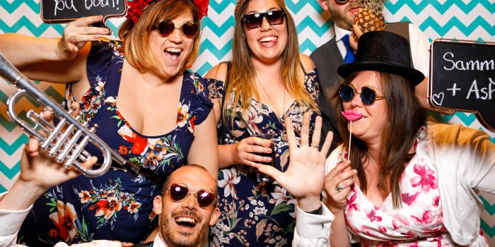 Styal Lodge wedding photo booth