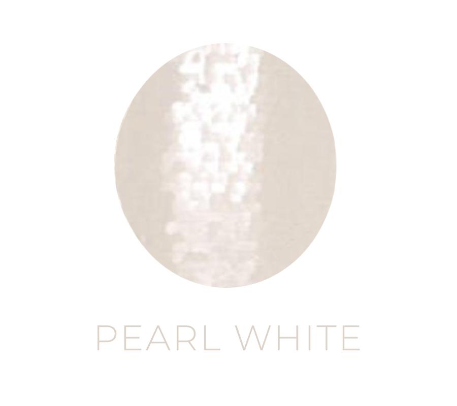 sequin backdrop white
