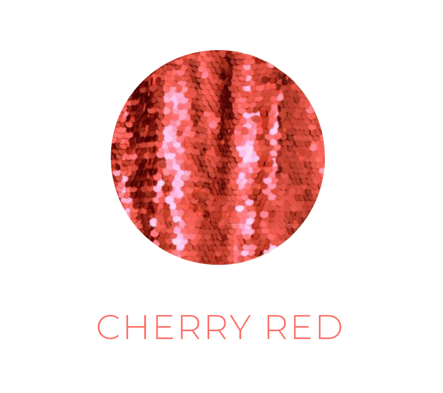 cherry red backdrop